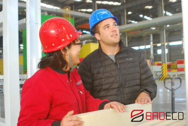 Mr. Smith Visited BRDECO for PU Sandwich Panels