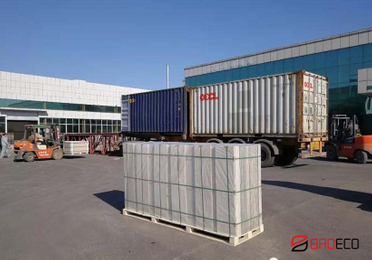 Consignment of BRDECO Decorative And Insulated Panel To Dubai