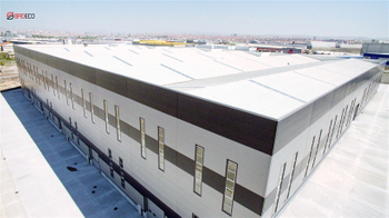 The Sandwich Panel Warehouse Project in Chile