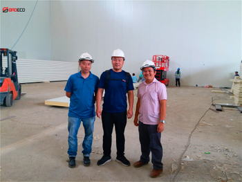 BRD Cold Room Panel is Installing in Philippines
