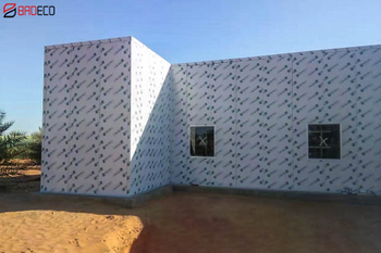 PU Cold Room Panel Project In The United Arab Emirates