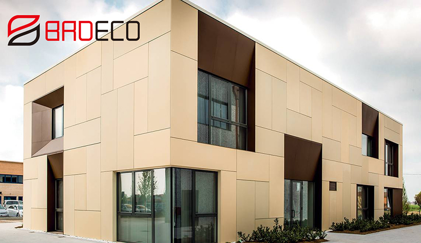 New Zealand office building project (used pu sandwich panel)