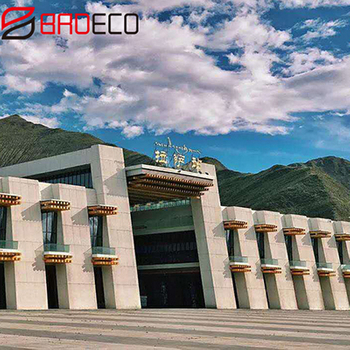 Exterior Insulation Wall System Project in Lhasa