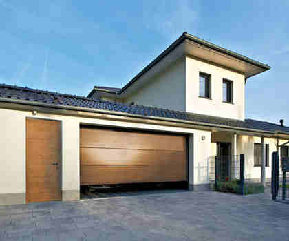 50mm Pu Foam Garage Door